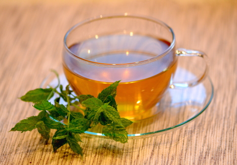 Menta tea (Fotó: MsTea)
