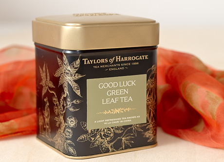 Good Luck Green Leaf Tea (Fotó: MsTea)