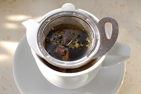 Saját teakeverék (Fotó: MsTea)