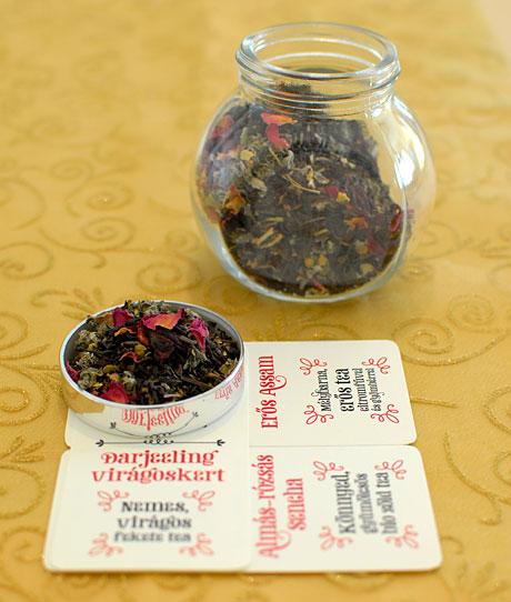 Saját teakeverék (Fotó és recept: MsTea)