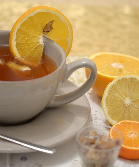 Tea grog (Fotó és recept: MsTea)