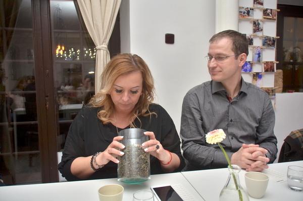 Sokféle teával ismerkedtünk (Fotó: MsTea)