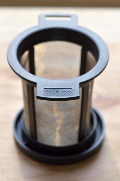Finum szűrő, már nem új, napi használatban van (Fotó: MsTea)